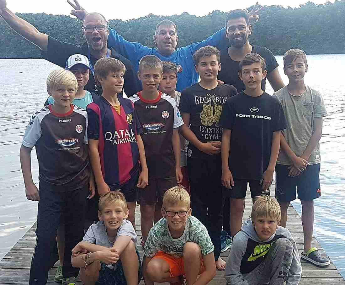 Erfolgreiches Sommertrainingslager der 1.D Jugend des TSV Trittau