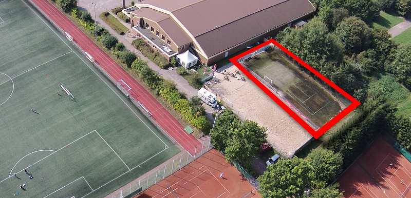 Status Beach-Soccer Platz