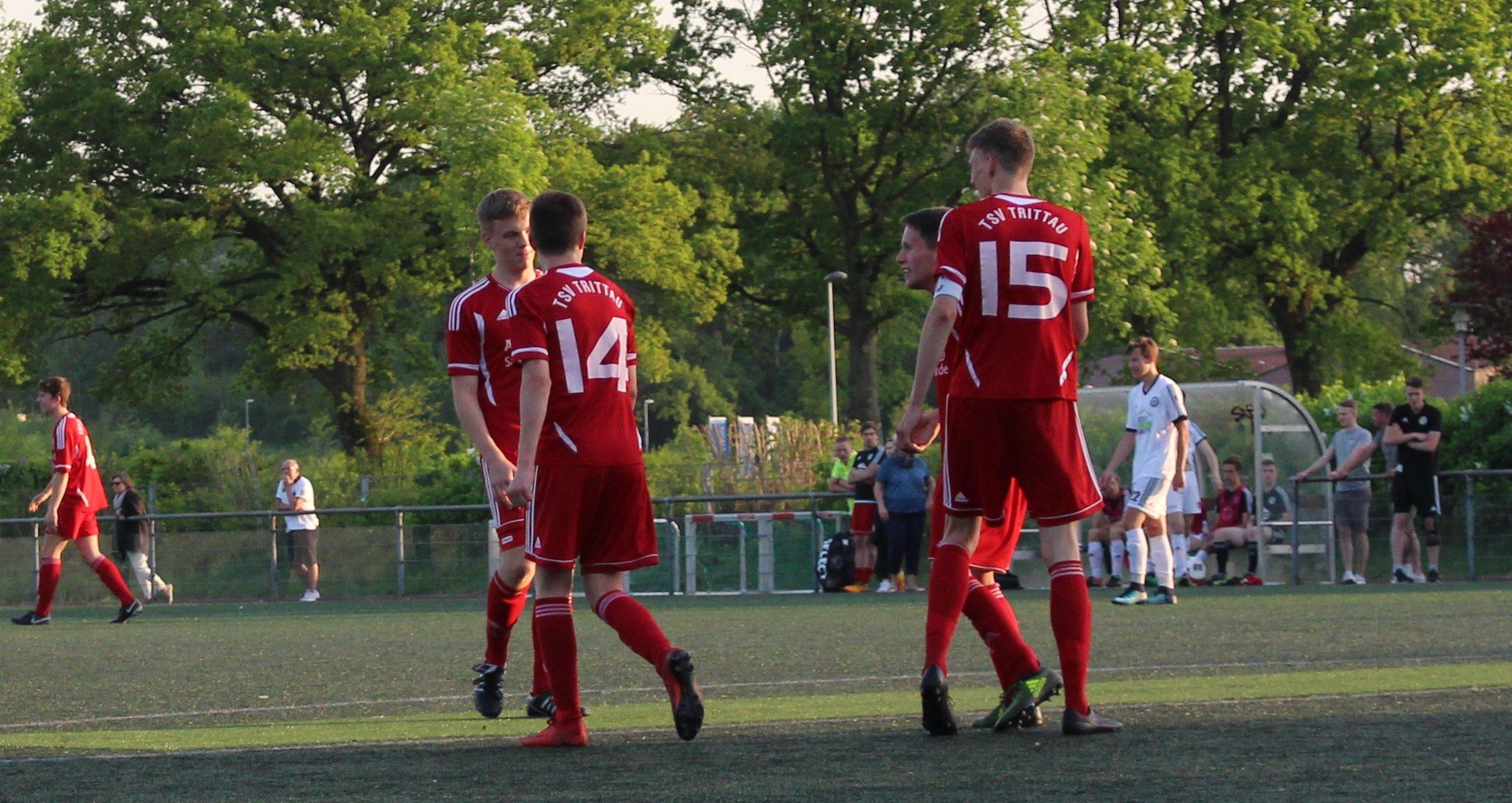 A-Jugend: 5:0-Schützenfest gegen Pansdorf