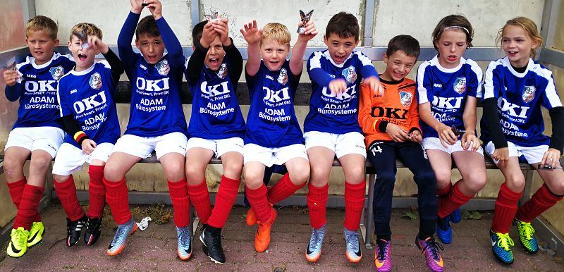 F-Jugend erfolgreich beim HASPA CUP
