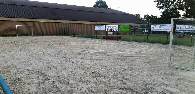 Eröffnung Beach-Soccer Platz