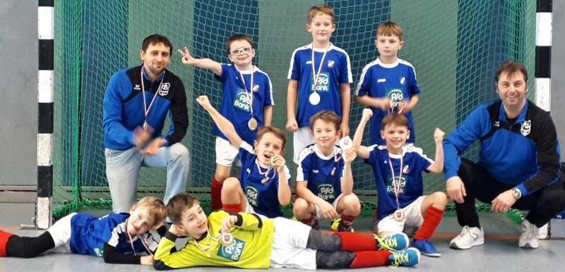 Hallenkreismeisterschaft der F-Jugend ein riesen Erfolg