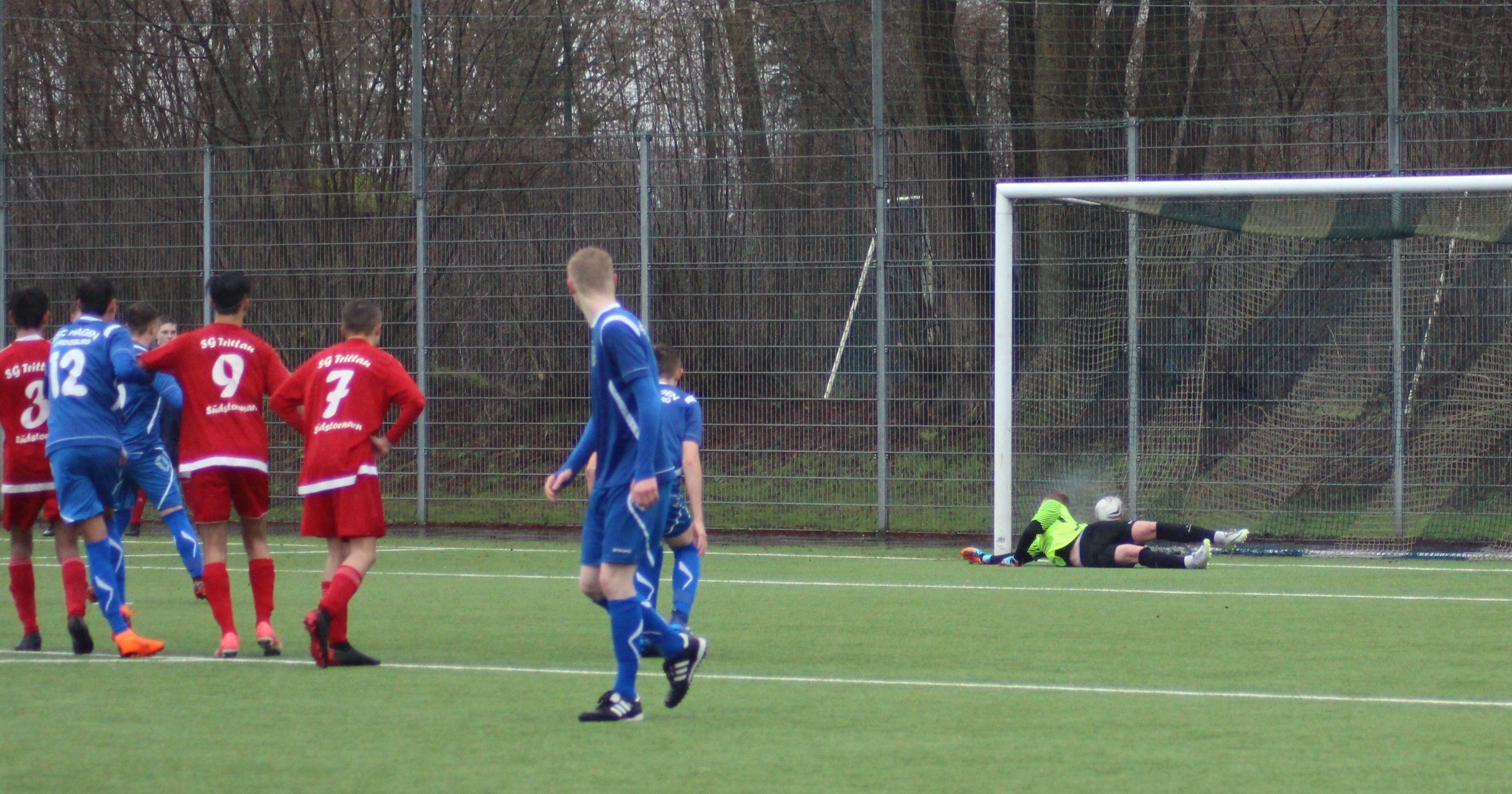 U17 erkämpft Punkt beim SSC Hagen