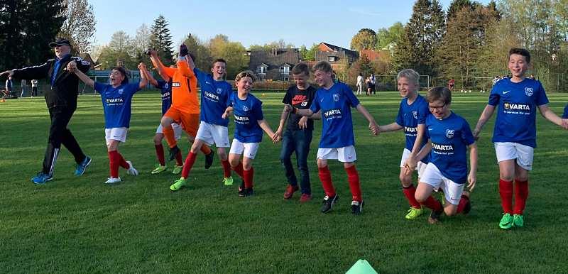 3. E-Jugend erreicht Pokalfinale