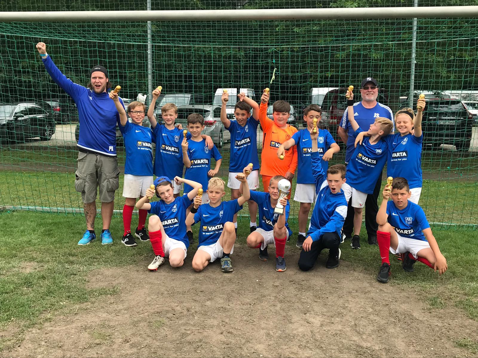 3. E-Jugend beim Deutschen Junioren Cup in Warnemünde