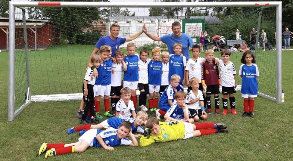 Saisonauftakt für 2. F-Jugend