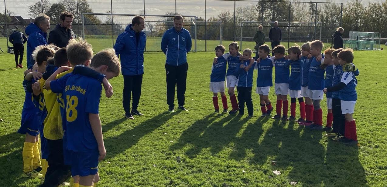 2. F-Jugend startet erfolgreich in die Meisterrunde