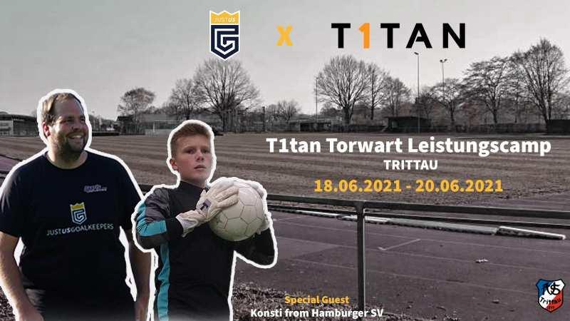 T1tan Torwart Leistungscamp