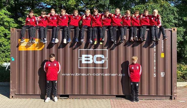 1. D-Jugend steigt in Verbandsliga auf